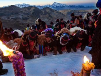 秘鲁圣山朝拜