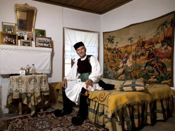 希腊沃武萨的村民