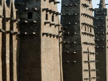 马里清真寺涂泥10
