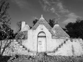 意大利乡村传统石顶小屋建筑10