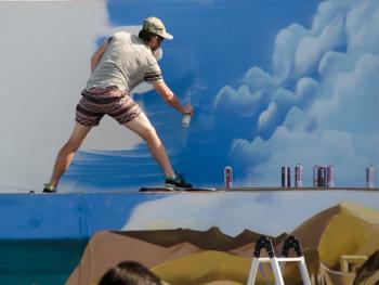 迪拜的涂鸦艺术