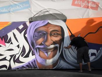 迪拜的涂鸦艺术4