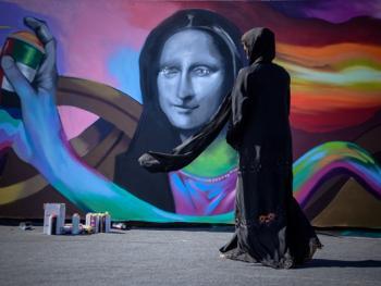 迪拜的涂鸦艺术5