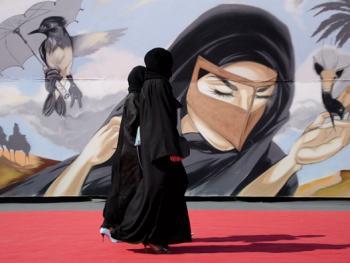 迪拜的涂鸦艺术6