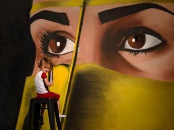 迪拜的涂鸦艺术7