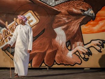 迪拜的涂鸦艺术8