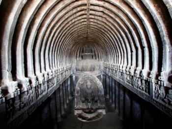 印度埃洛拉石窟05