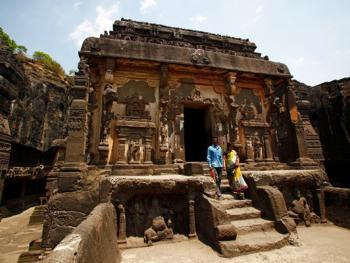 印度埃洛拉石窟
