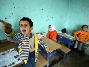伊朗乡村学校08
