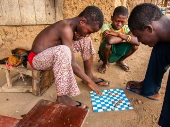 塞拉利昂乡村传统生活12