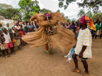 塞拉利昂乡村传统生活02