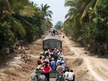 柬埔寨的火车之旅12