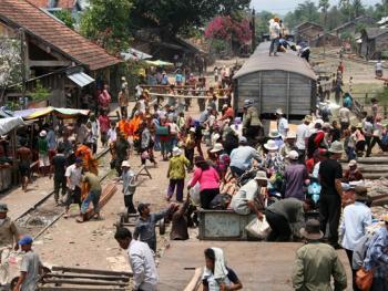 柬埔寨的火车之旅06