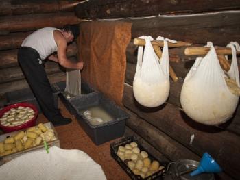 塔特拉山奶酪制作