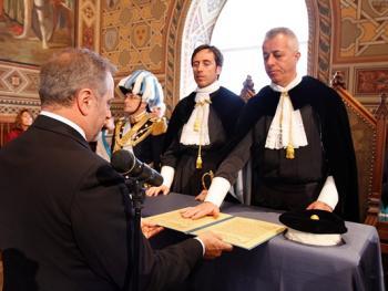 圣马力诺执政官就职仪式