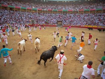圣费尔明奔牛节07