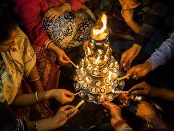 印度教的恒河祈祷13