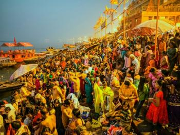 印度教的恒河祈祷01