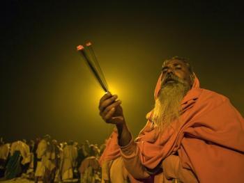 印度教的恒河祈祷04