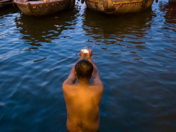 印度教的恒河祈祷05