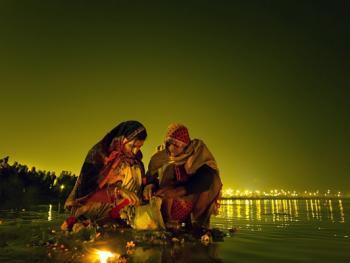 印度教的恒河祈祷06