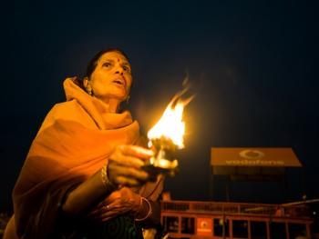 印度教的恒河祈祷07