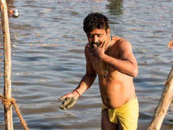 印度教的恒河祈祷09