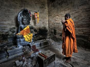 柬埔寨僧侣的袈裟13