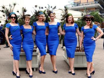 阿斯科特赛马会上的女士帽子11