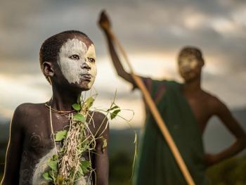 奥莫河谷部族14