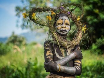 奥莫河谷部族09