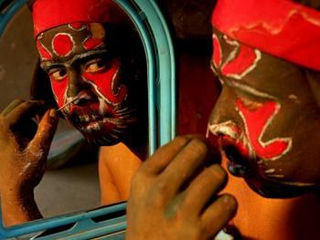 印度神话人物的装扮过程05