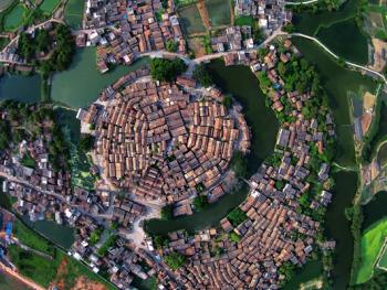 鸟瞰中国古建筑