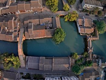 鸟瞰中国古建筑14