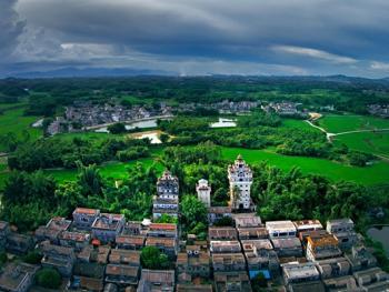 鸟瞰中国古建筑04