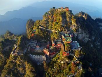 鸟瞰中国古建筑06