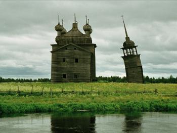 俄罗斯北部的木质教堂10