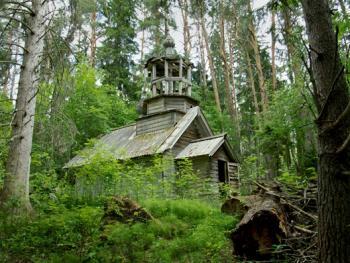 俄罗斯北部的木质教堂11