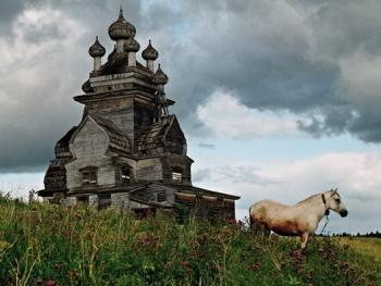 俄罗斯北部的木质教堂12
