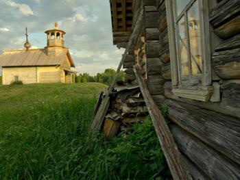 俄罗斯北部的木质教堂04