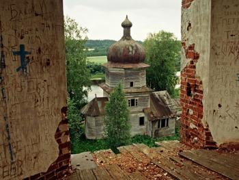 俄罗斯北部的木质教堂05