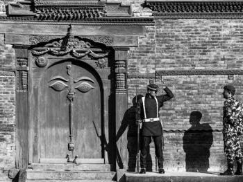 尼泊尔建筑的木雕之美10