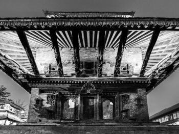 尼泊尔建筑的木雕之美11