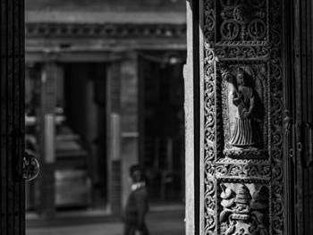 尼泊尔建筑的木雕之美13