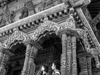 尼泊尔建筑的木雕之美01