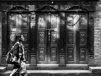 尼泊尔建筑的木雕之美04