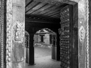 尼泊尔建筑的木雕之美07