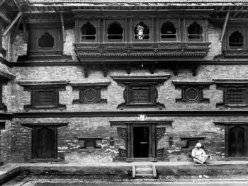 尼泊尔建筑的木雕之美08