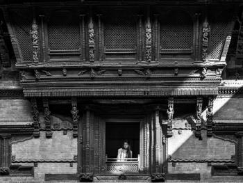尼泊尔建筑的木雕之美09