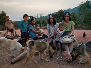 老挝的阿卡部落14